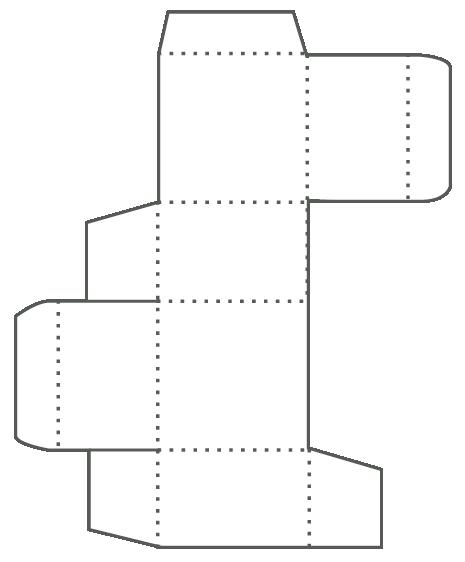 Faltkarton Skizze
