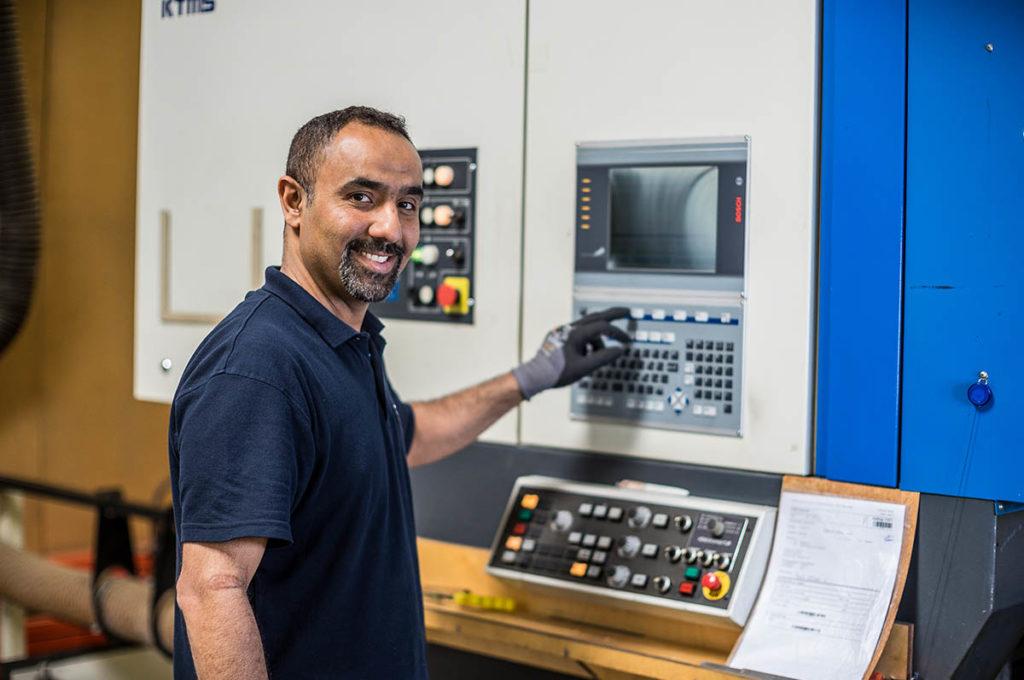 Maschine bei KTMS Stanzformen