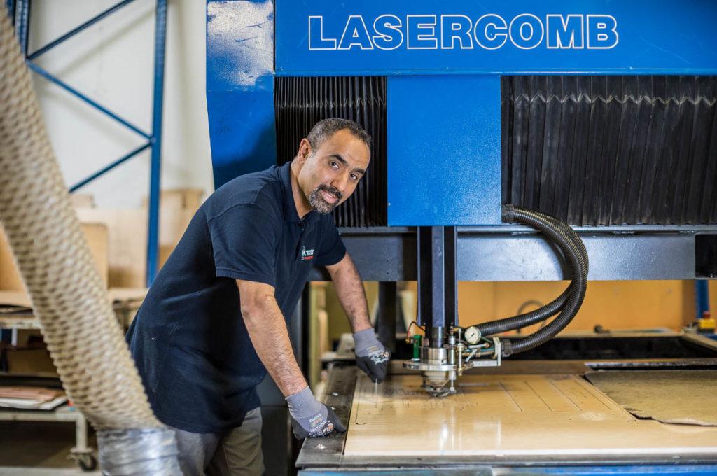 Stanzformen Laserschnitt