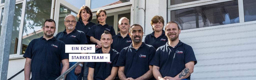 Teambild der Firma KTMS